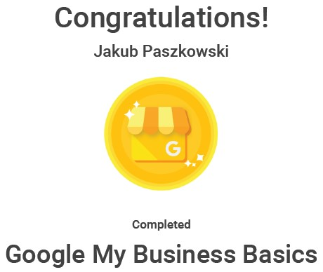 Google My Business Basic